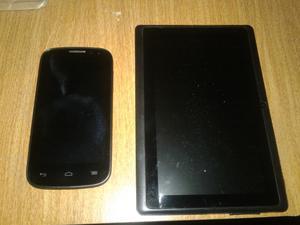 Vendo celular y tablet para repuestos