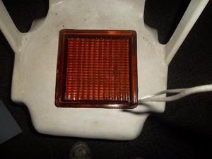 ladrillo de vidrio colo ambar (color caramelo)