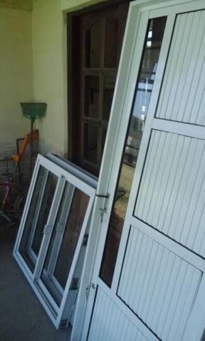 puerta de aluminio de 80x200