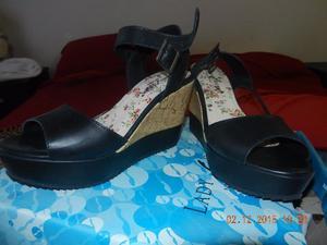 zapatos SIN USO de cuero