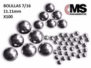 Bolillas Acero Carbono  Mm X100 Ms Rodamientos