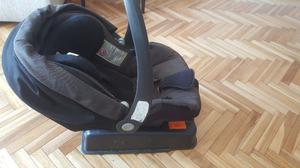 Butaca Huevito Bebé Peg Perego Primo Viaggio Tri Fix + Base