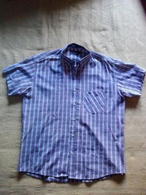 Camisa A Rayas Verticales Hombre Usada Talle L