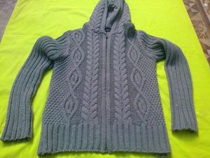 Campera de lana con capucha zara man