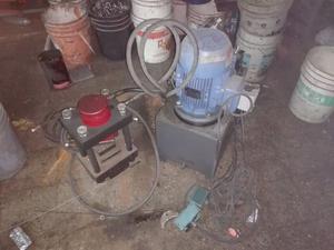 Central hidráulica usada