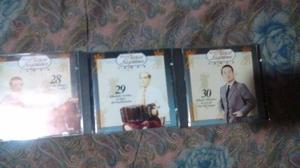 Colección de cds de tango.