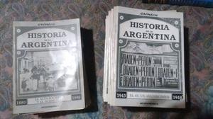 Colección de revistas de historia Argentina de Cronica