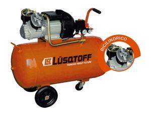 Compresor De Aire Lusqtoff 4hp 100 Lts Mando Directo Gtia!