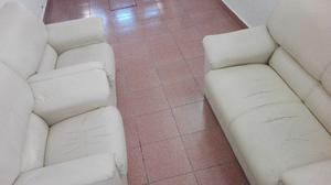 Juego de sillones ecocuero