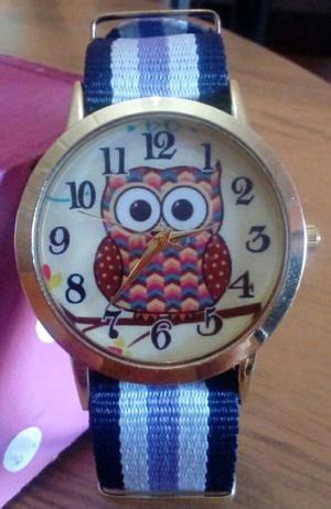 Reloj Búho con correa