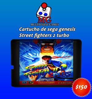 Street Fighter 2 cartucho de sega genesis
