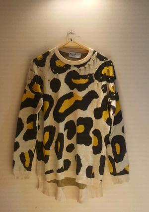 Sweter animal print