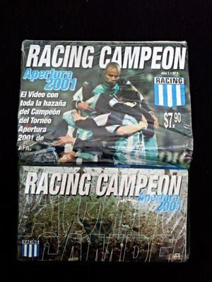 VHS Colección Racing Campeón