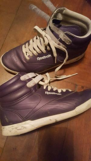 Zapatillas reebok violetas