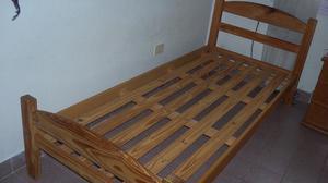 cama 1 plaza. Excelente estado. como nueva. Buena madera