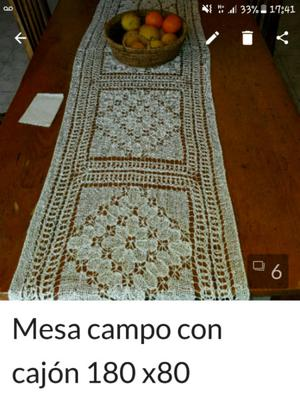 mesa de campo