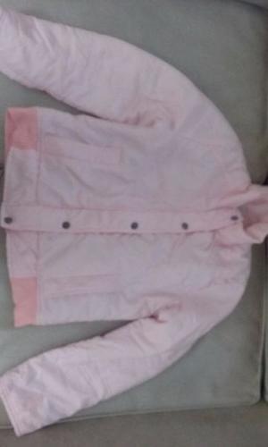 Campera talle 38 union good color rosa claro, como nueva
