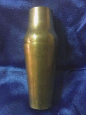 Coctelera antigua bronce