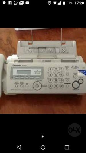 Fax Teléfono Panasonic