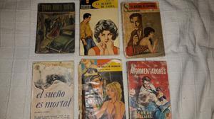 Libros Novelas Policiales Antiguos