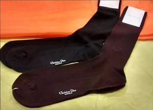 Liquido Lote 4 Pares Medias Vestir Christian Dior Avellaneda