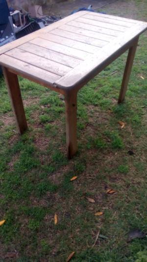 Mesa madera pino liquido