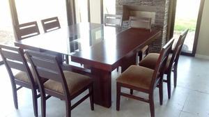 """Vendo mesa moderna, de primera calidad, diseño""""H"""" con"""