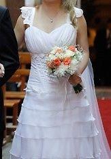 Vendo vestido de novia impecable