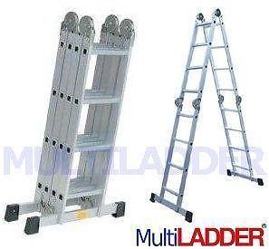 escalera articulada 4,7 mtr plegable de aluminio MultiLadder
