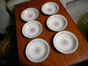 hermosas compoteras de porcelana inglesa sellados