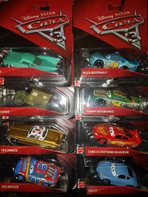 Autos Cars 3 Combo X3 Originales De Mattel