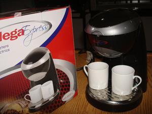 Cafetera Electrica Marca Mega Express dos pocillos