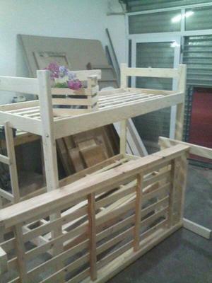 Cama marineras. Muebles en general. Carpinteria.