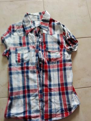 Camisas mangas cortas un uso