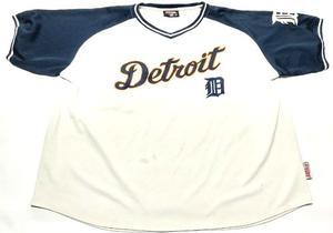 Camiseta Detroit Tigers Baseball Mlb Talle Xxl Stitches
