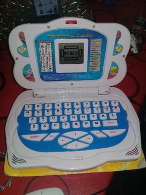 Computadora didactica hermosa
