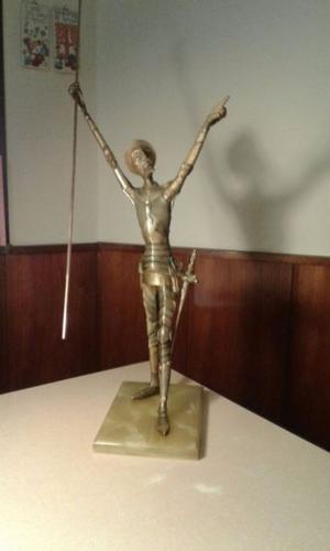 Don Quijote de bronce