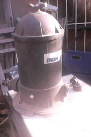 Filtro y bomba para pileta