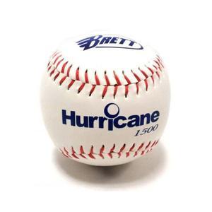 Pelota Bola Softball Brett Hurricane ´´ Pvc Blanca