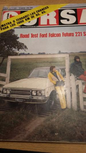 Revista Corsa 381 Road test Ford falcon futura