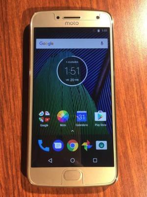 VENDO Moto G5 Plus 32GB Gold LIBRE IMPECABLE