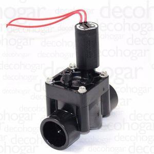 Valvula Solenoide Hunter Riego Pgv100 Electrica De 1 Pulgada