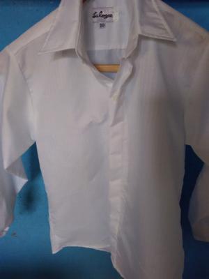 Vendo camisa blanca para comunión talle 12