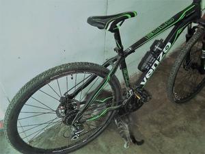 bicicleta venzo r29 permuto x bici de carrera.