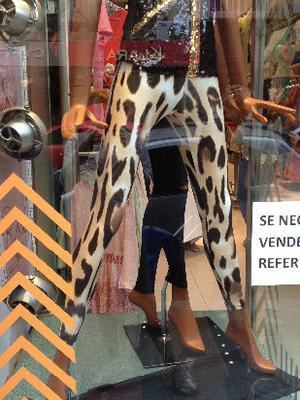 calza estampada animal print, envio a capital sin cargo!!