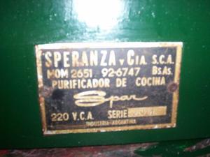 purificador cocina - lote 154