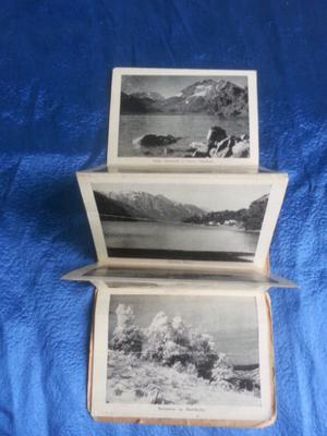 Antiguas fotos postales recuerdo de bariloche álbum