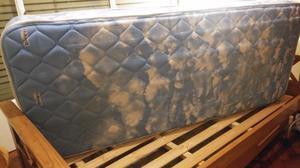 Cama + colchón de una plaza