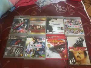 Lote de 10 juegos para ps3