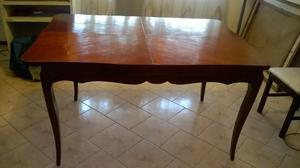 Mesa madera comedor moderna a super precio posot class - Mesa comedor antigua ...